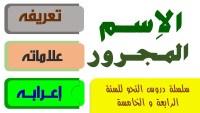 شارك محمد في مسابقه الاسم المجرور