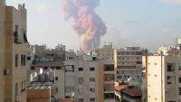 فيديو لحظة انفجار بيروت اليوم كامل