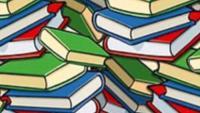 لغز اين القلم الضائع بين الكتب