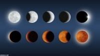 لماذا نرى القمر في اشكال مختلفة خلال الشهر