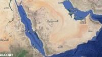 المملكة العربية السعودية تقع غربي البحر الاحمر