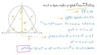 مضلع منتظم قياس زاويته الداخلية يساوي نصف قياس زاويته الخارجية