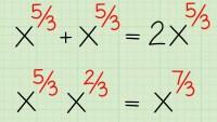 يمكن كتابة العدد ٨×٨×٨ باستعمال الأسس على الصورة التالية