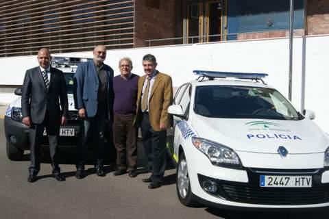 La Policía Local de Vícar duplica su parque móvil con la incorporación de tres nuevos vehículos