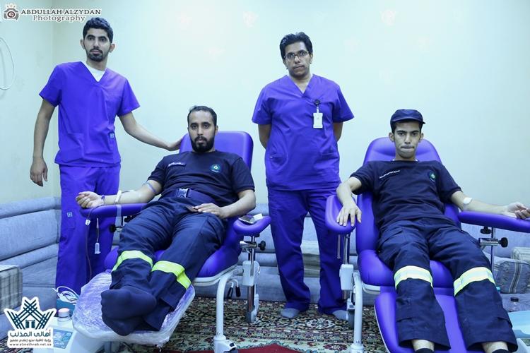 مدني المذنب ينفذ حملة للتبرع بالدم لمنسوبيه بالتعاون مع مستشفى المذنب العام وبتغطية إعلامية موقع وسناب أهالي المذنب الإلكترونية