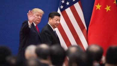الرئيسان الأمريكي والصيني في لقاء سابق