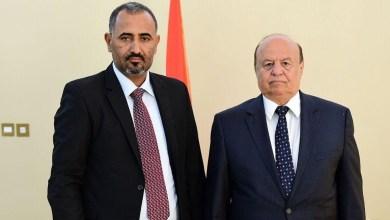 الرئيس هادي والزبيدي