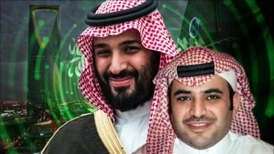 سعود القحطاني ومحمد بن سلمان