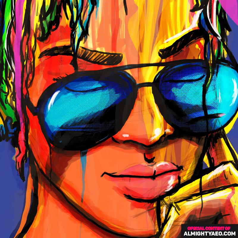 fair skinned short haired girl painting