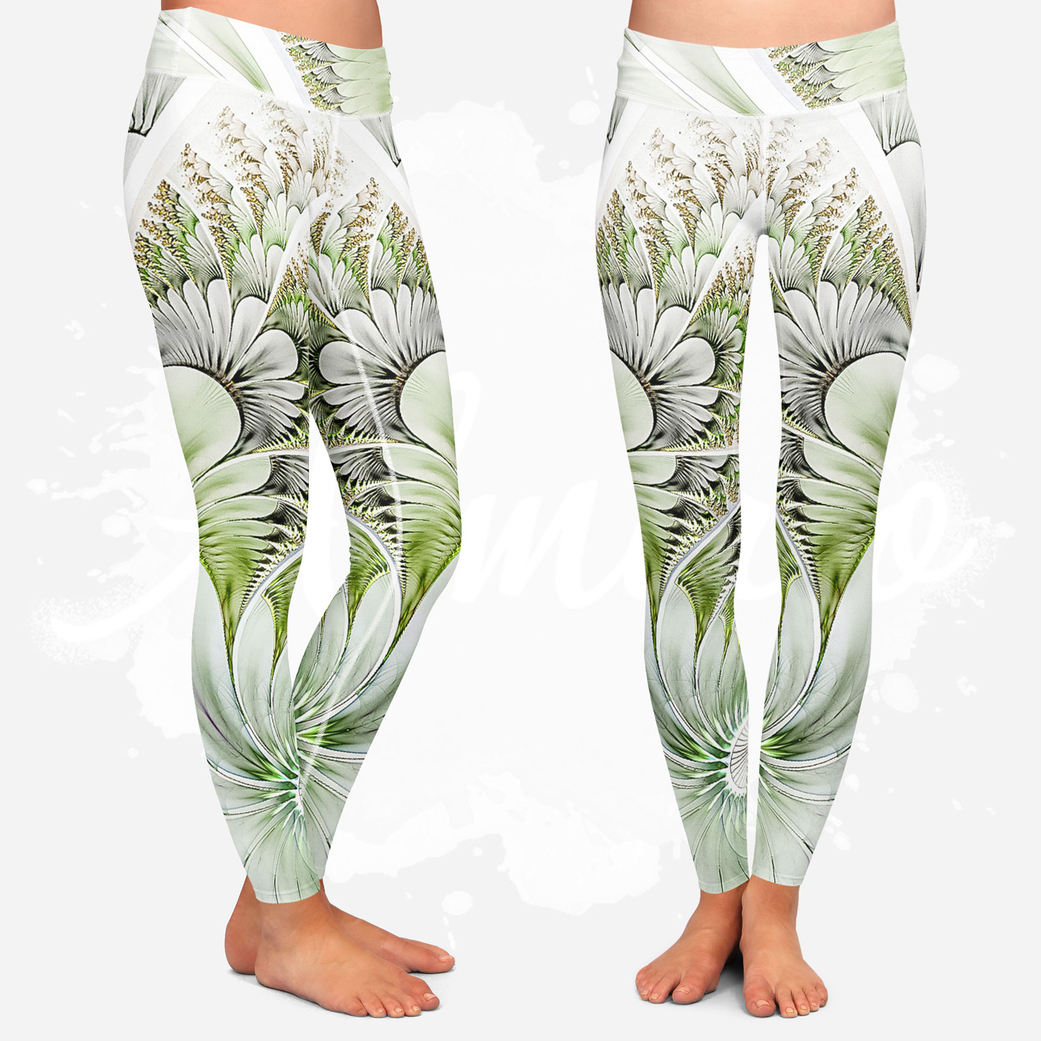 Leggings for women, Almirio, yoga style.