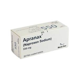Apranax Tablet 550mg 20's