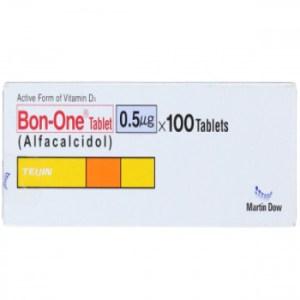 Bon-One Tab 0.5mcg 40's