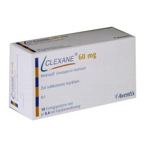 Clexane Injection 60mg 2PFSx0.6ml