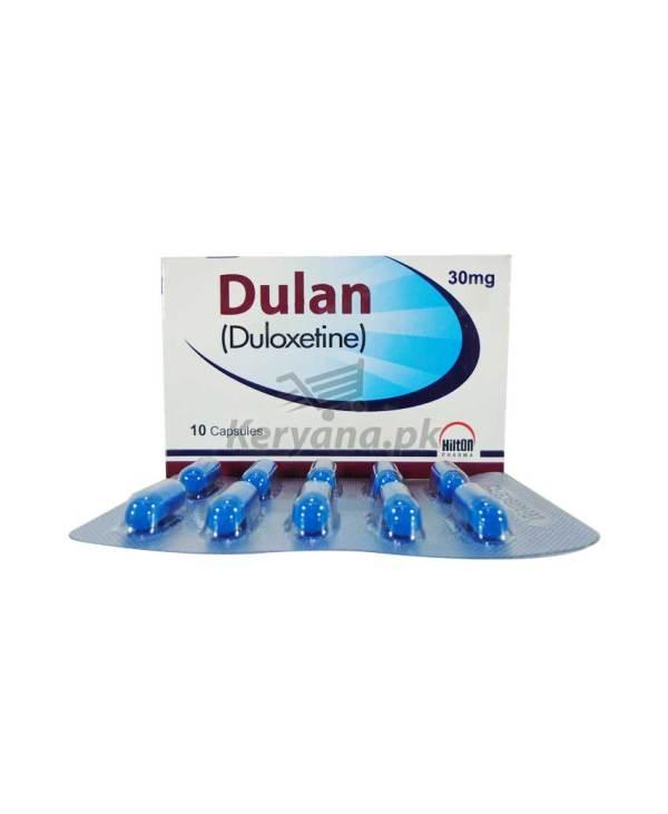 Dulan Capsules 30mg 10's