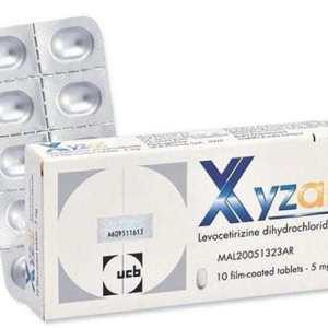 Xyzal Tablets 5mg 10s