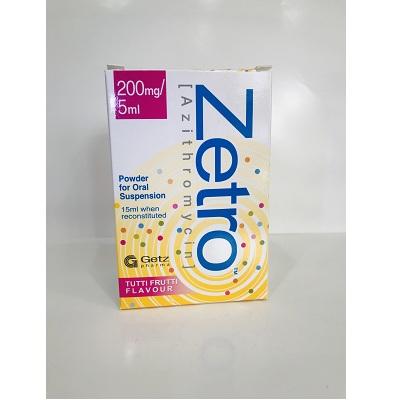 Zetro 200mg 5ml Syrup