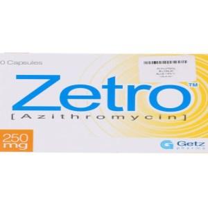 Zetro 250mg Capsule