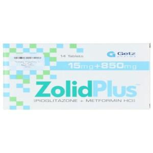 Zolid Plus 15 plus 850mg Tablet