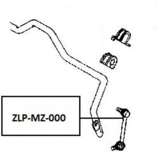 stabilizátor MAZDA 626 GE/GF 323 BA CX-7 XEDOS-6 MX-5 MX-6