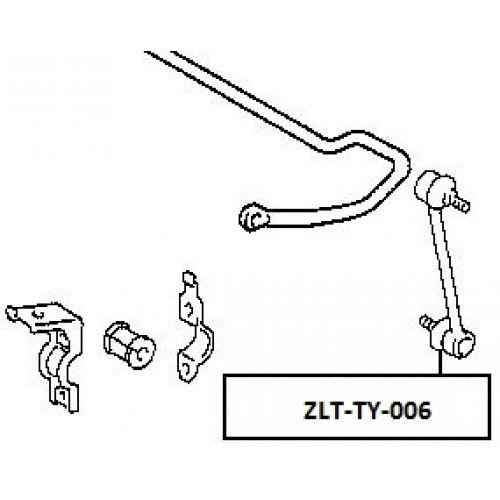 NTY Tyčka stabilizátor zadní TOYOTA COROLLA 1991-1997