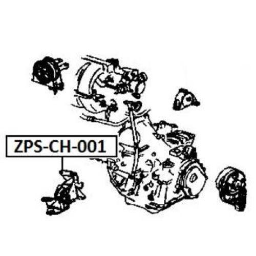 NTY Silentblok motor přední CHRYSLER VOYAGER RG RS III