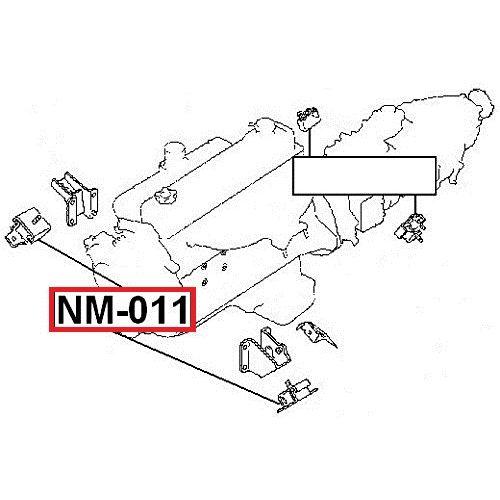 FEB Silentblok motor NISSAN PATROL/SAFARI Y60 Y61 GR