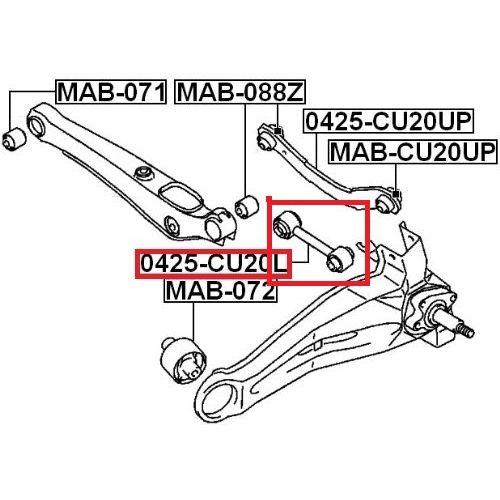 Tyčka stabilizátor JEEP COMPASS PATRIOT 07- DODGE CALIBER