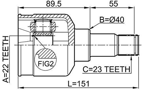 NTY Kloub poloosy FORD C-MAX CAP CB3 CB7 FOCUS II III CB8