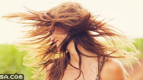 اسباب زوال لون الشعر عند استعمال الماء