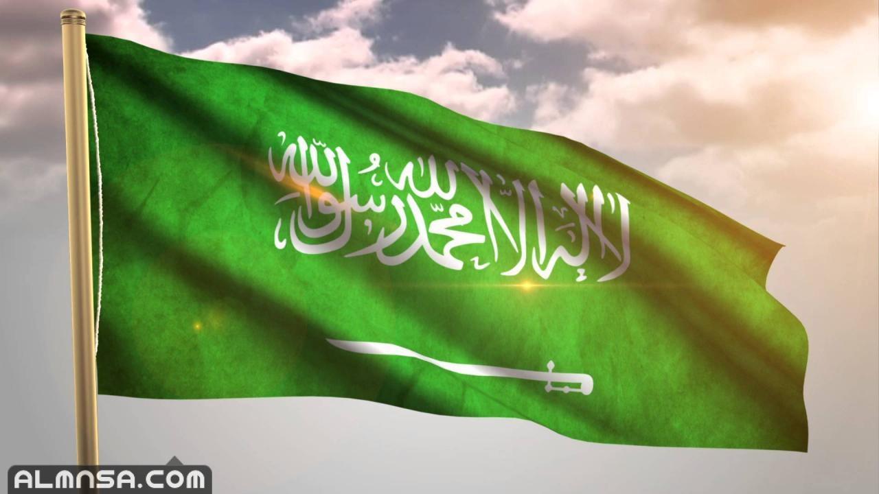 صور علم المملكة العربية السعودية