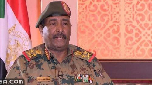 خطاب البرهان اليوم بعد انقلاب السودان