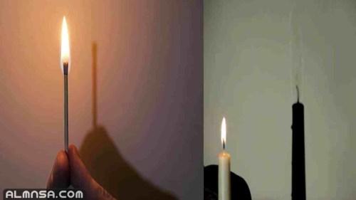 لماذا النار ليس لها ظل