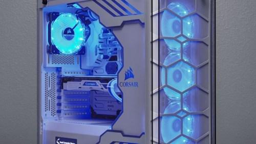 مكونات صندوق الحاسب هي