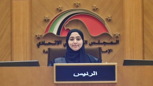 من هي مثايل الصريدي رئيسة البرلمان الاماراتي للطفل