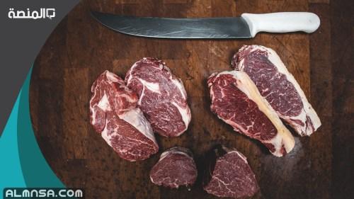السعرات الحرارية في لحم الجمل