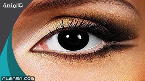 ابيات غزل في العيون السوداء