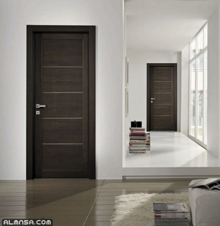 ابواب خشبية داخلية للغرف 2021