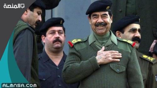 نسب صدام حسين الحقيقي