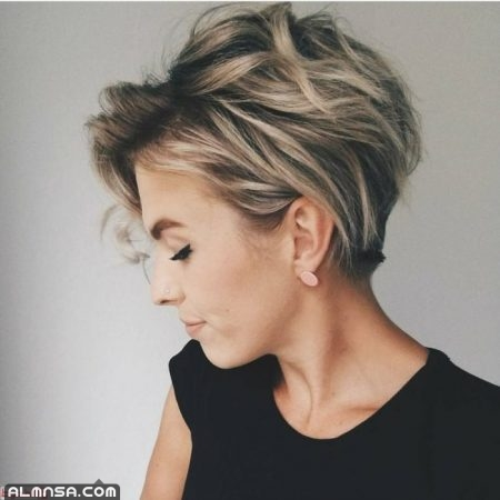 تسريحات شعر قصير للنساء 2021