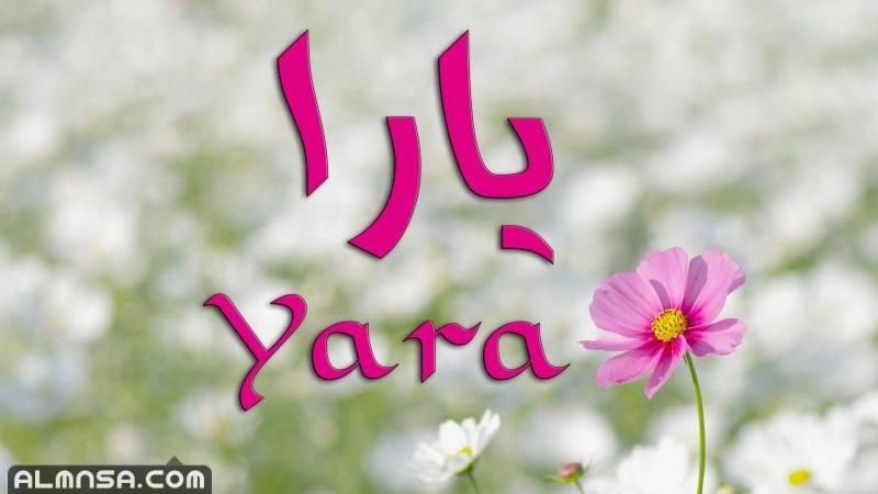 معنى اسم يارا وشخصيتها