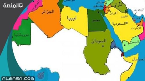 ماهي اكبر دولة عربية من حيث المساحة