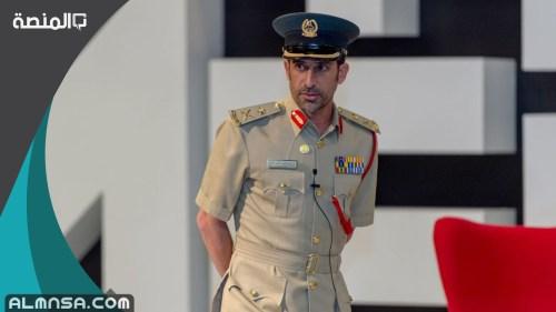 من هو قائد عام شرطة دبي 2021
