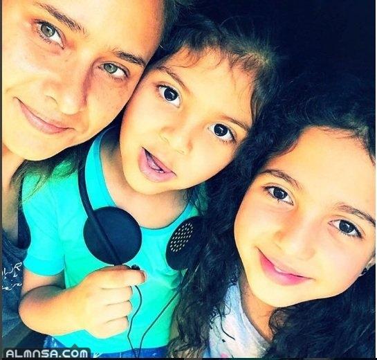 صور أولاد نيللي كريم الأربعة