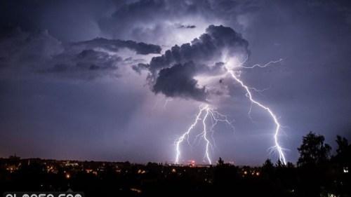 ماذا يقال عند سماع الرعد