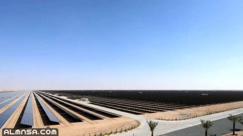 مشاريع الطاقة الشمسية في المملكة العربية السعودية