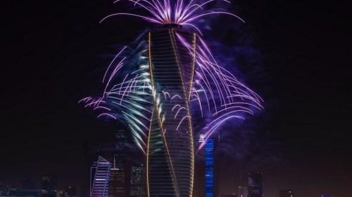 موعد الالعاب النارية موسم الرياض