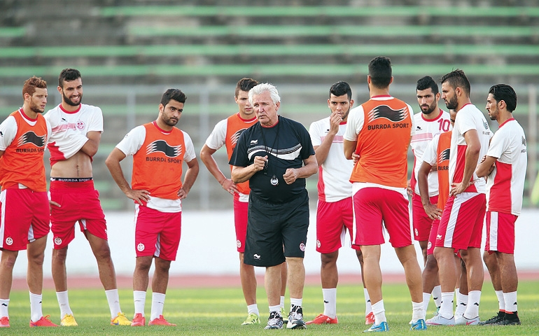 المنتخب التونسي يصل إلى المغرب ويخوض أولى الحصص التدريبية