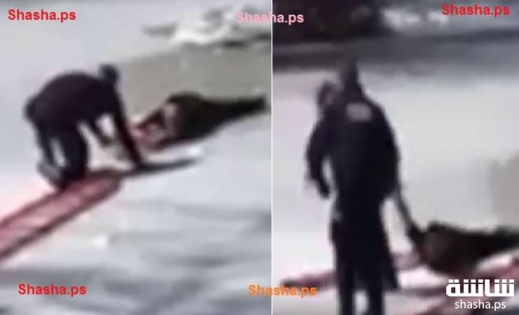 فيديو| هكذا تم إنقاذ مراهق علق ببركة متجمدة!!