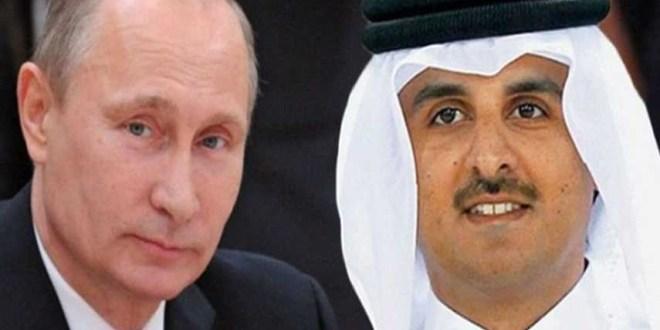 رسالة خطية من أمير قطر إلى الرئيس الروسي بوتين