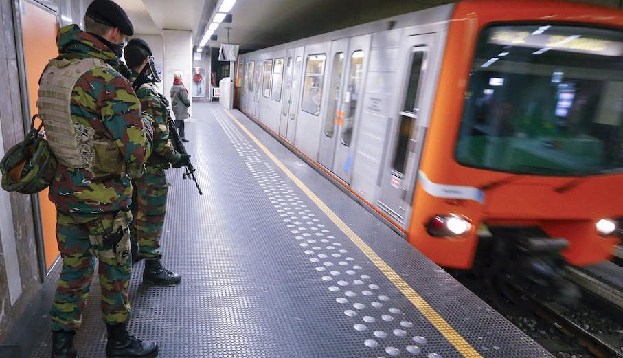 هجوم إرهابي يستهدف محطة قطارات في بروكسل